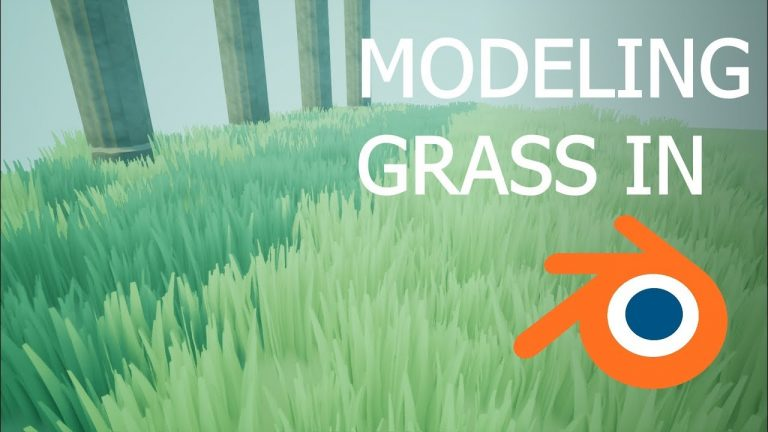 3d Modeling Grass For Video Games In Blender And Unreal