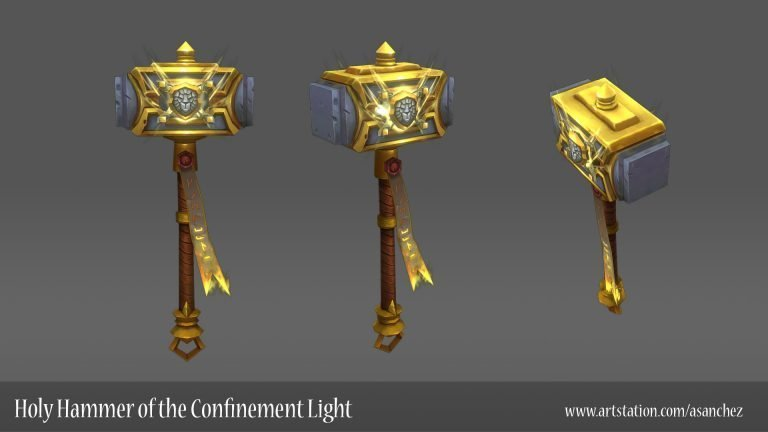 Holy Hammer of the Confinement Light by Alejandro Sanchez