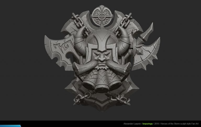 Warcraft coats of arms by Alexander Lyapsin