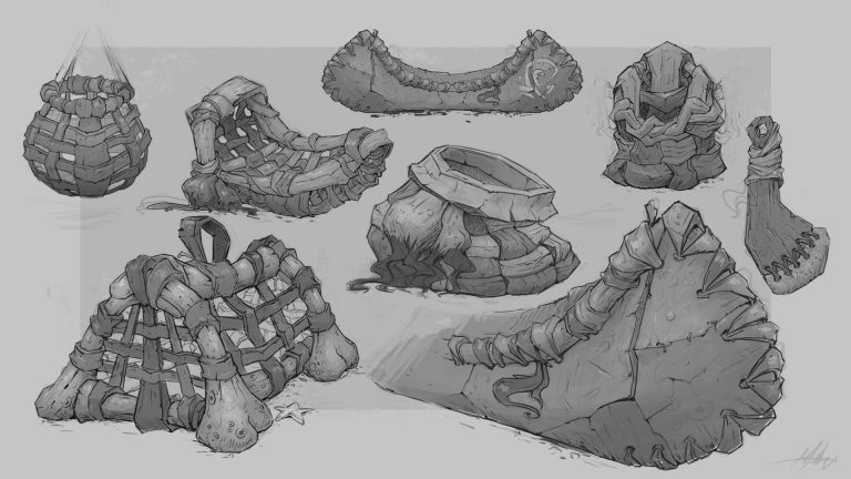 Prop Sketches  by Mats Myrvold