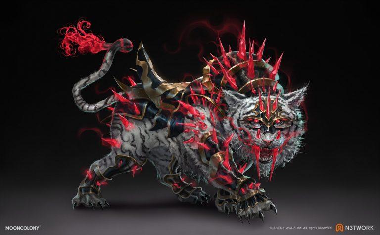 Sabertooth Tiger   Legendary by Mooncolony Ltd