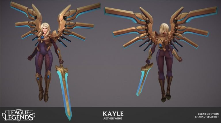 Aether Wing Kayle  by Oscar Monteon