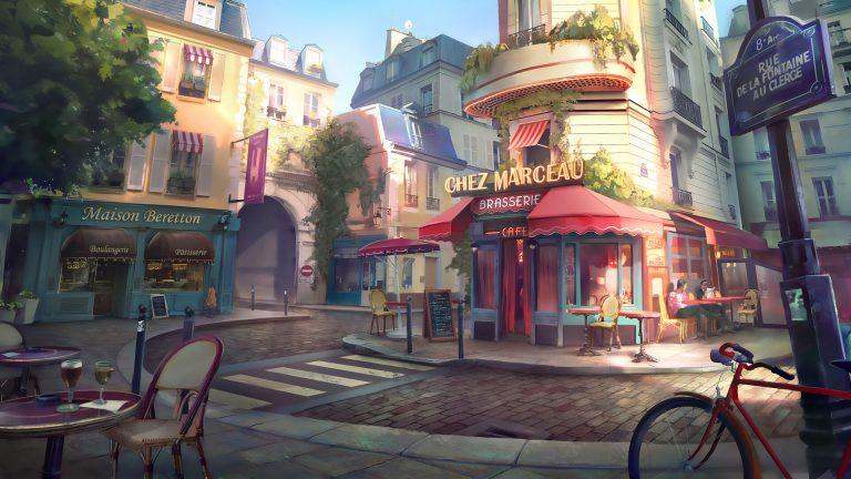 Paris street / apartment by Robin Lhebrard