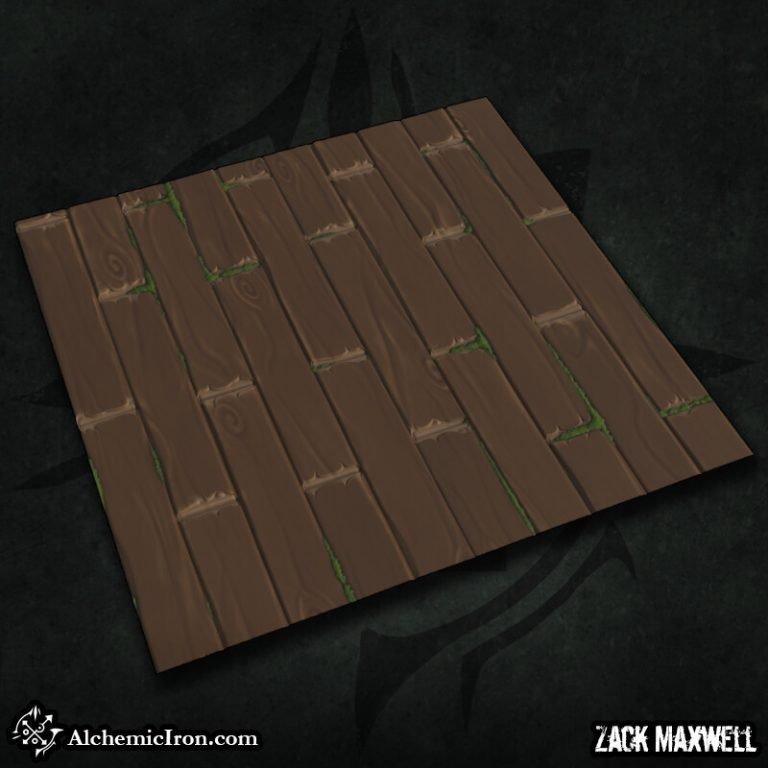 Stylized Wooden Floor by Zack Maxwell