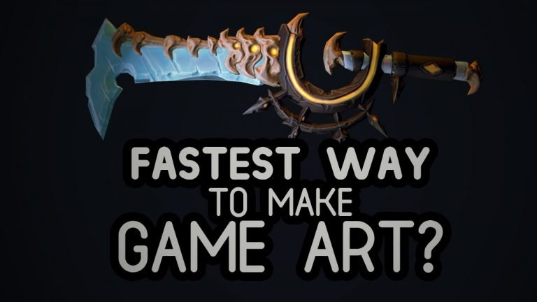 A Fast Method to Create Game-Ready Assets with Zbrush & Substance Painter
