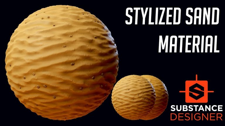 Creating Stylized Sand in Substance Designer